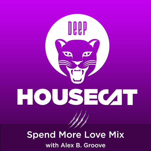 Deep House Cat Show - Spend More Love Mix - with Alex B. Groove