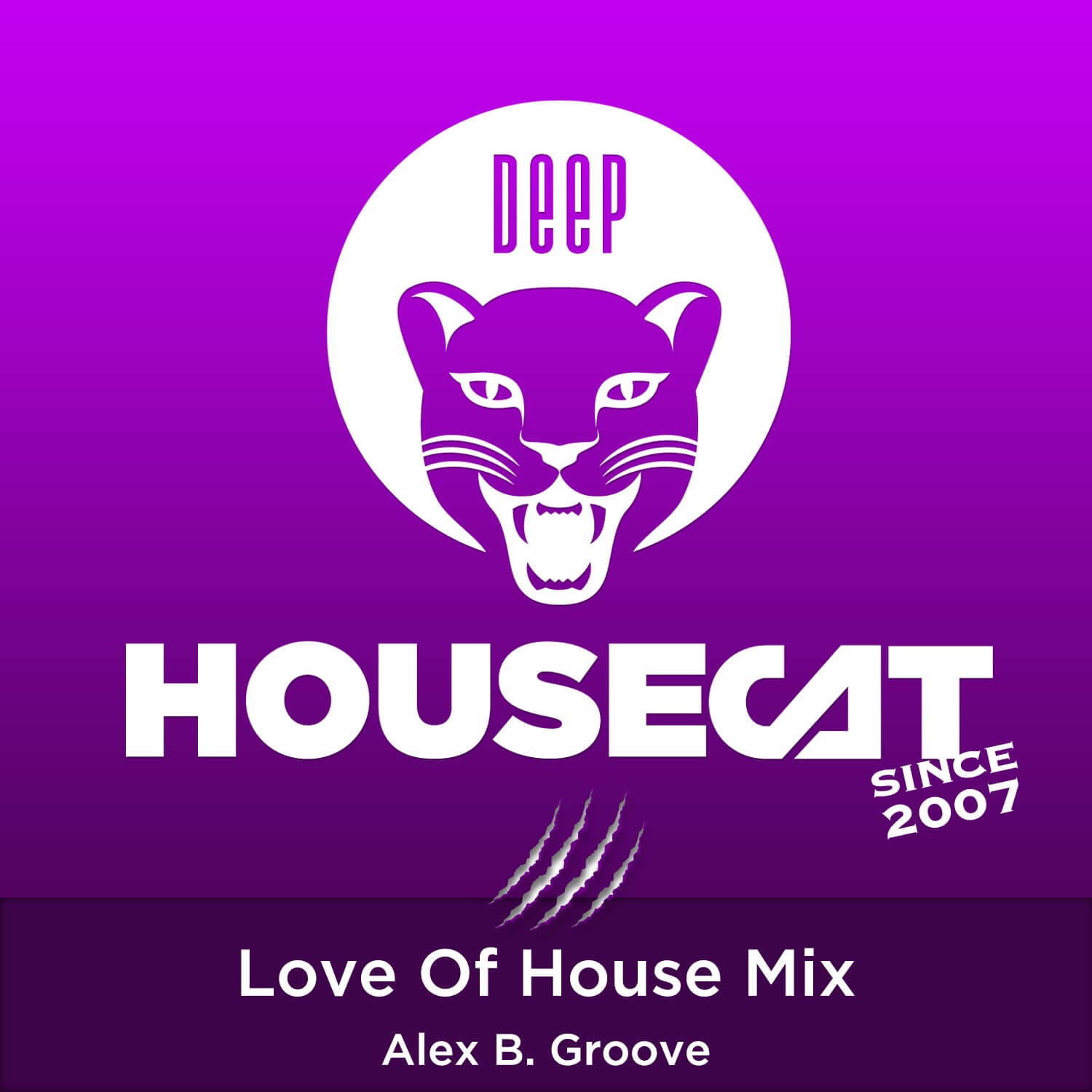 Love Of House Mix - with Alex B. Groove